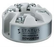 Status SEM206TH Temperature Transmitter